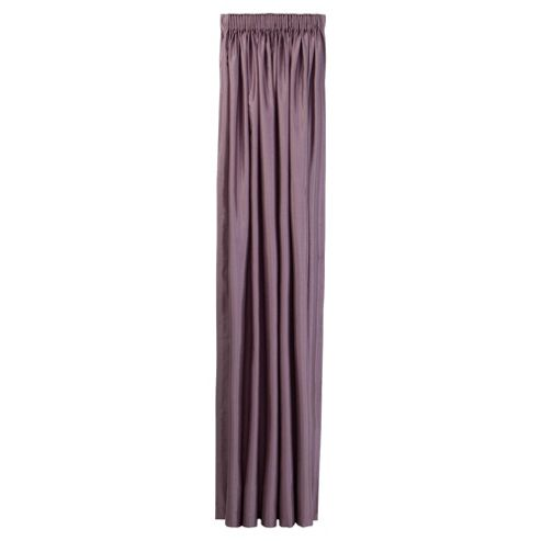 Tesco Faux Silk Lined pencil pleat Curtains W229xL137cm (90x54