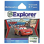 LeapFrog LeapsterLeapPad Explorer Cars 2 Game