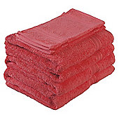 Tesco Towel Bale - Coral