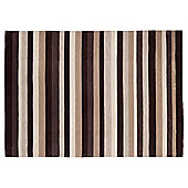 Tesco Rugs Stripes Rug Natural 150X240Cm