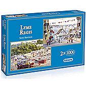 Lyme Regis 2x1000 Piece Jigsaws