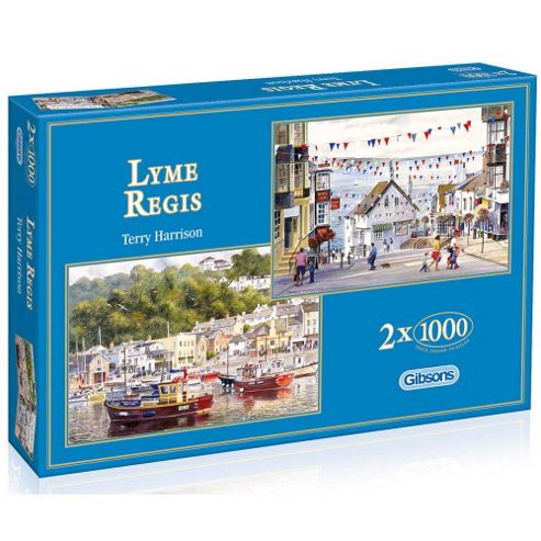 Lyme Regis 2x1000 Piece Jigsaws