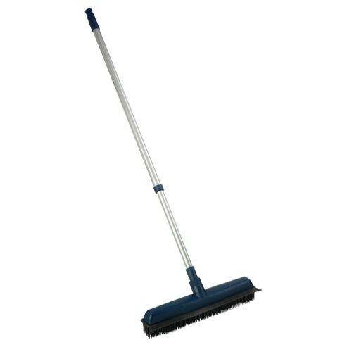 Tesco Rubber Bristle Broom