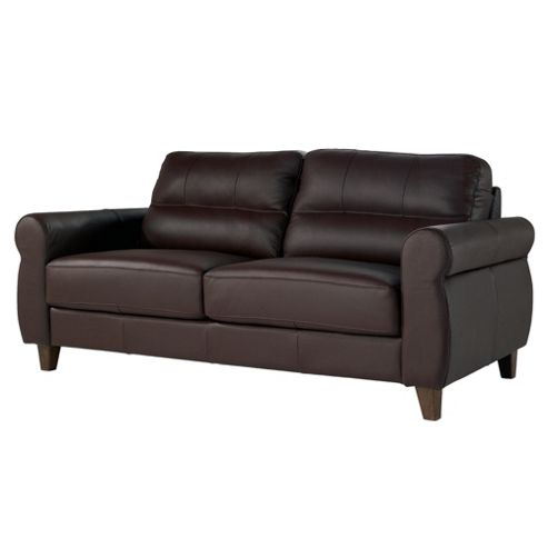 Fabio Large Leather Sofa Cognac