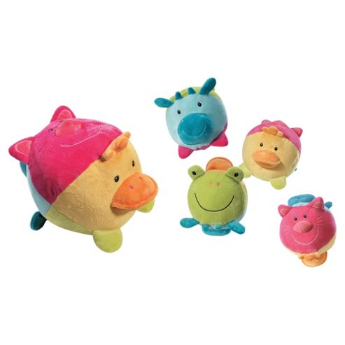 Baby Fehn Animal Baby Activity Ball with Animal Noises