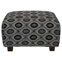 Marseille Footstool Charcoal