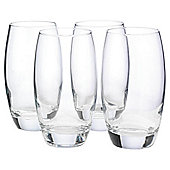 Tesco Set of 4 Hi-Ball Glasses