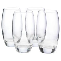 Tesco Set of 4 Hi-Ball Glasses.