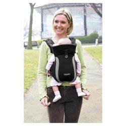 Tomy Premier Baby Carrier, Black