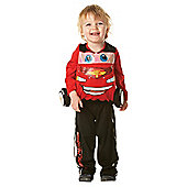 Lightning McQueen Padded Character Costume Small
