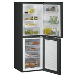 Whirlpool HK4355AB Static Fridge-Freezer Black