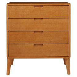 Retro Drawer Chest, Light Oak