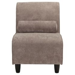 Amelie Fabric Accent Chair Charcoal