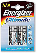 Energizer HighTech 4 Pack Alkaline AAA batteries