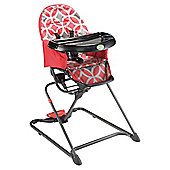Quicksmart Easy Fold Highchair, Red