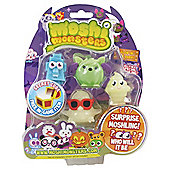 Moshi Monsters Halloween Series 1 Blister Pack Glow in the Dark