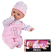 """Abbie 15"""" Interactive Soft Bodied Doll"""