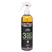 Muc-Off 3-Step Protect Lube & Shine, 500ml