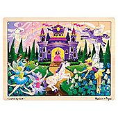 Melissa & Doug Fairy Fantasy 48 Piece Wooden Jigsaw Puzzle