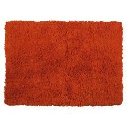 Tesco bath mat, burnt orange