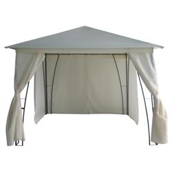 Gazebo Steel Framed w/side walls