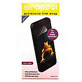 Wrapsol Ultra Protective Film Wrap for HTC Incredible S