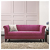 Millie Large Fabric Sofa Pink