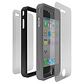 Cygnett Snaps Duo Case iPhone 4 Black and Grey