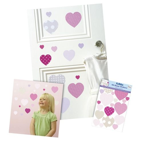 FunToSee Sweet Heart Valentine Wall Stickers