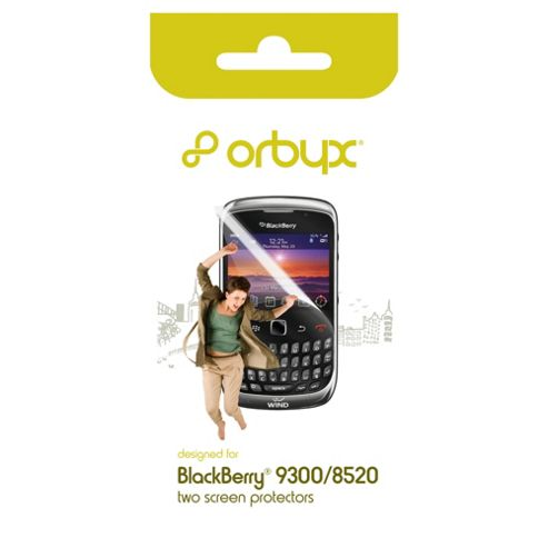 Orbyx Screen Protector Twin Pack BlackBerry Curve 8520/9300