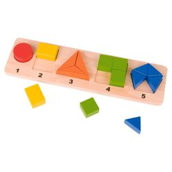 Shapes 'n' Numbers Wooden Toy