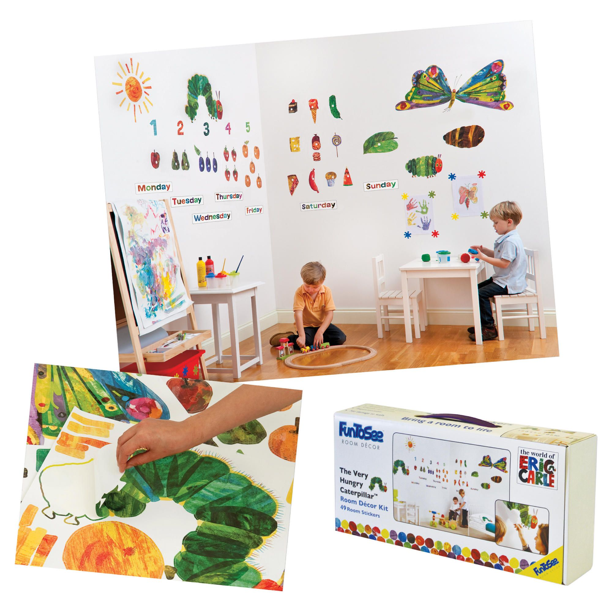 myshop the very hungry caterpillar sticker book by eric carle