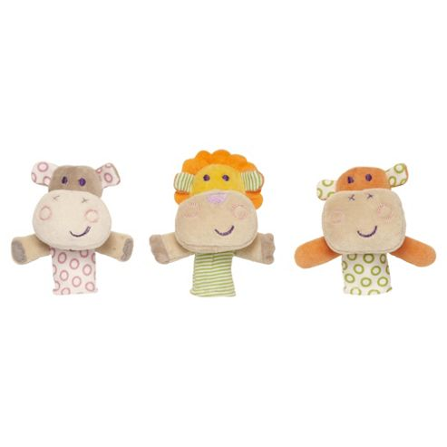 Spook Finger Puppets Hoppo, Moomba & Coco