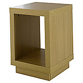 Torino Side Table, Oak-Effect