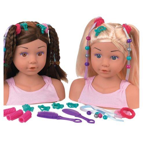 Dolls World Styling Head