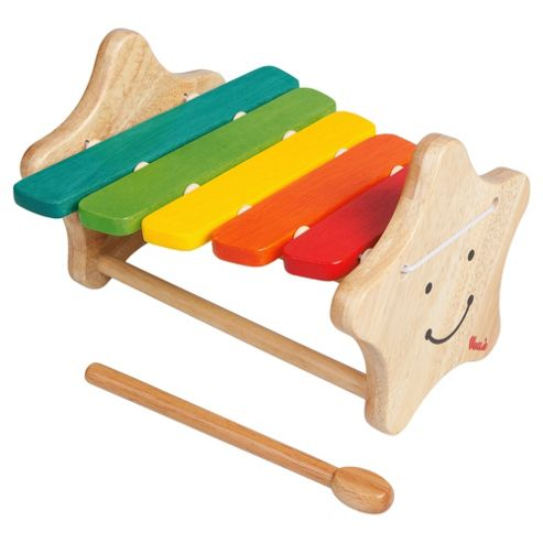 Voila Smiley Xylophone Wooden Toy