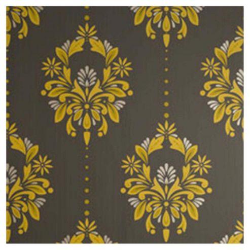 Dulux Antoinette Wallpaper, Saffron