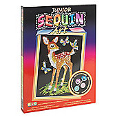 KSG Crafts Junior Sequin Art Fawn