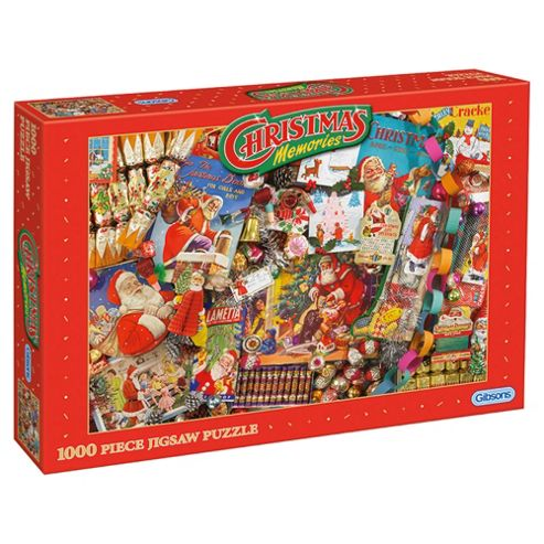 Christmas Memories 1000 Piece Jigsaw