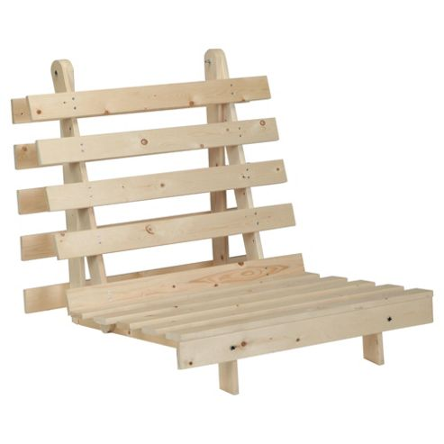 Helsinki Single Pine Futon Frame Only, Natural