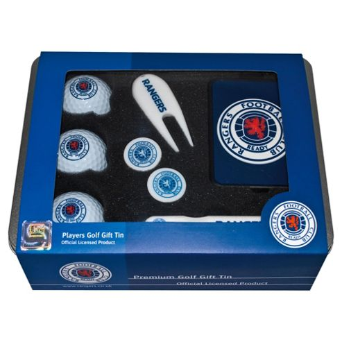 Rangers Premium Golf Tin Set