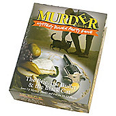 Murder Mystery Dinner Party game - The Brie The Bullet & Black Cat