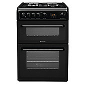 Hotpoint HAG60K Black Twin Cavity Cooker