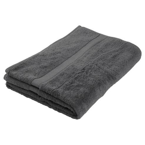 Finest Pima Bath Sheet Charcoal