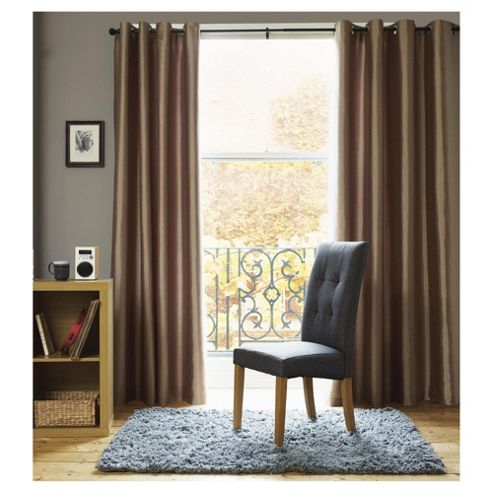 Faux Silk Eyelet Curtains W229xL229cm (90x90