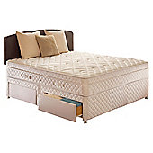 Sealy Diamond Excellence Double 4 Drawer Divan Bed
