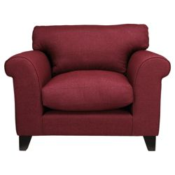Amersham Armchair Cranberry