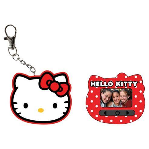Hello Kitty Digital Keychain