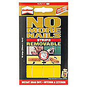 UniBond No More Nails Removable Strips, 10 pack