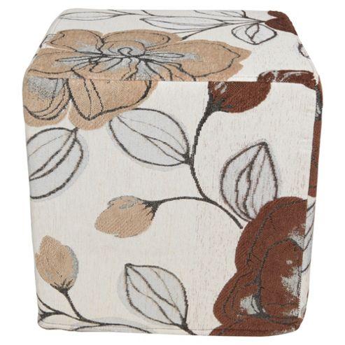 Amelie Cube Camel Floral